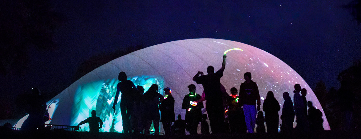 Space Cloud@Paseo festival 2018, Photo credit: Taos News